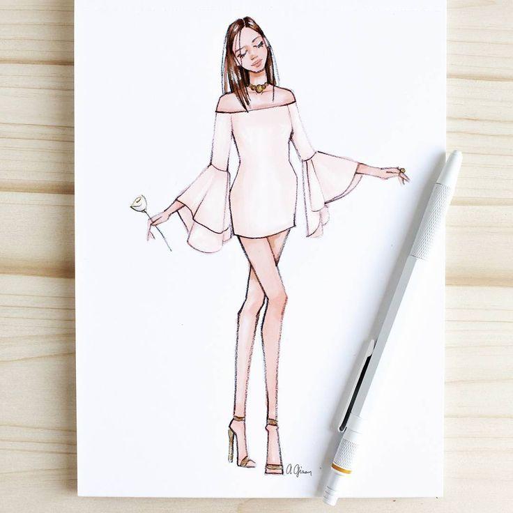 Best 25 Dress Drawing Ideas On Pinterest