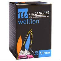 Wellion 28G βελόνες για μετρητές 50τεμ