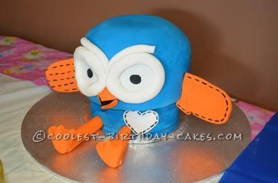 Coolest Hoot The Owl 1st Birthday Cake... This website is the Pinterest of homemade birthday cakes