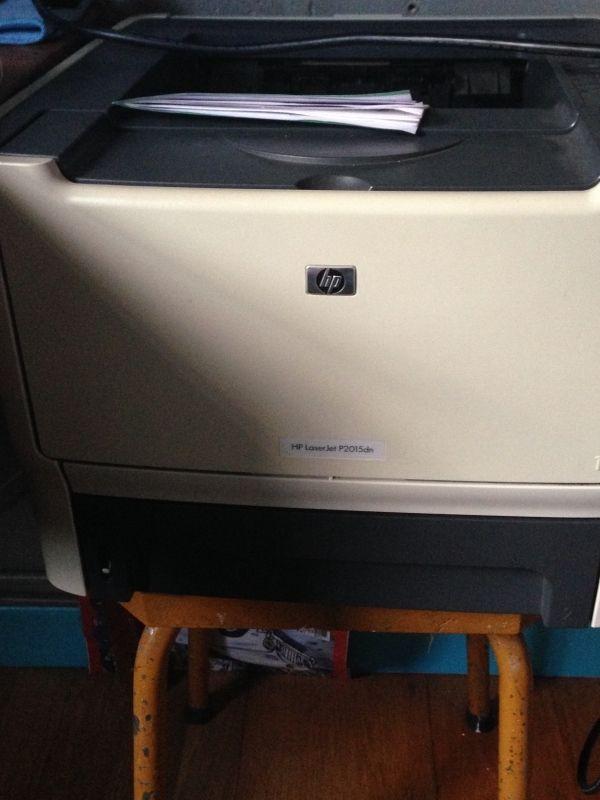 Imprimante HP Laserjet P20015dn sans encre. Location HP Laser Saint-Malo-de-Guersac (44550)
