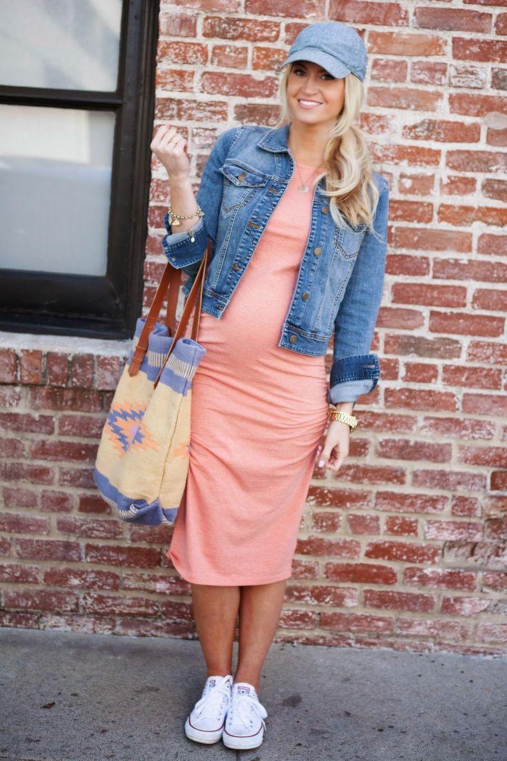 Neutral color maternity dresses