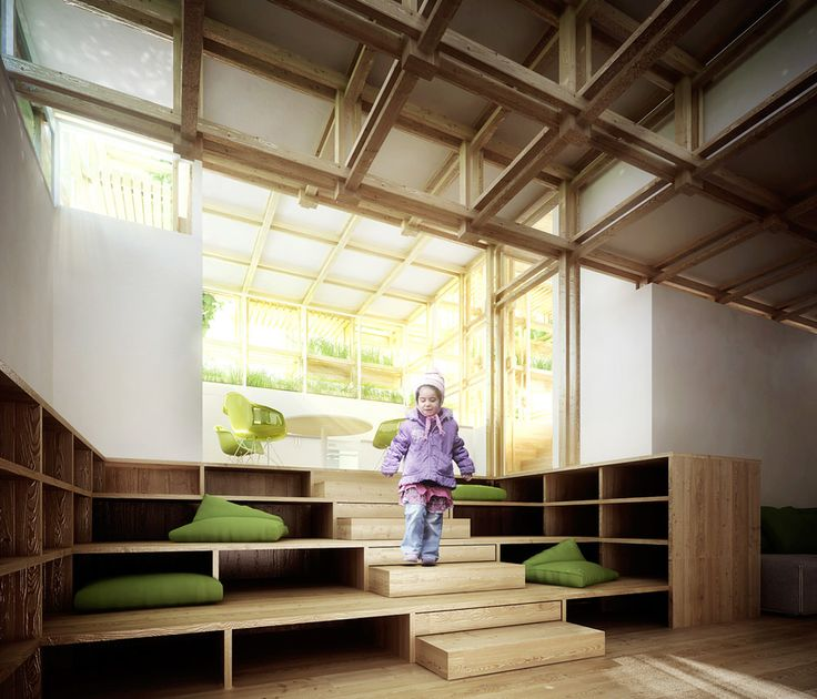 Gardenhouse Concept Architecture By Penda Nice Ideas