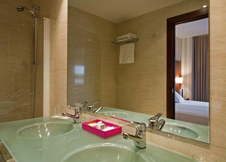Baño del Hotel Zenit Coruña