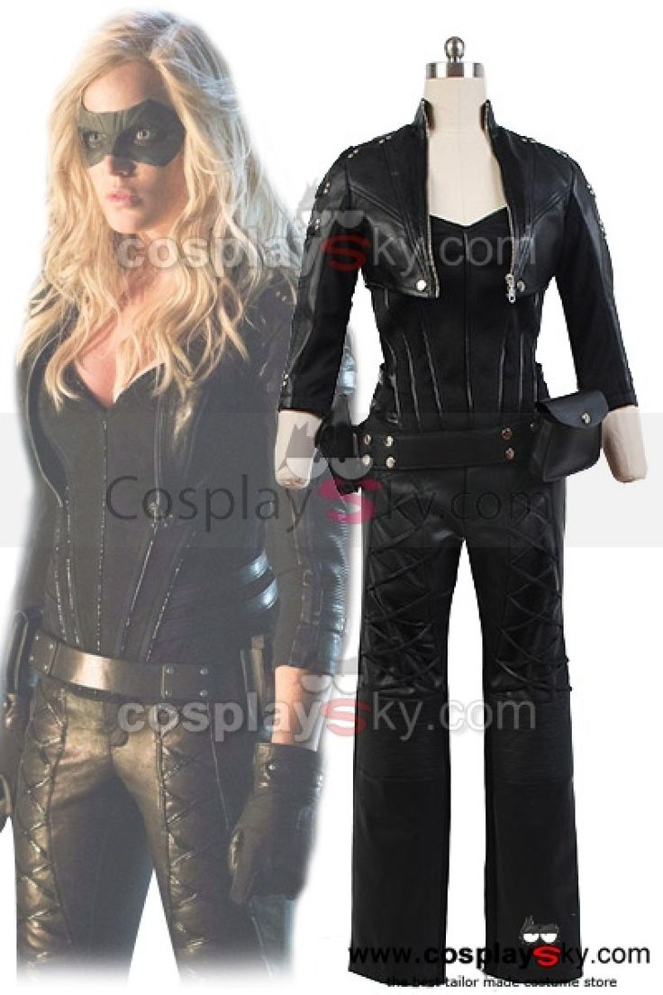 green-arrow-black-canary-dinah-laurel-lance-cosplay-costume-artificial-leather-outfit-5
