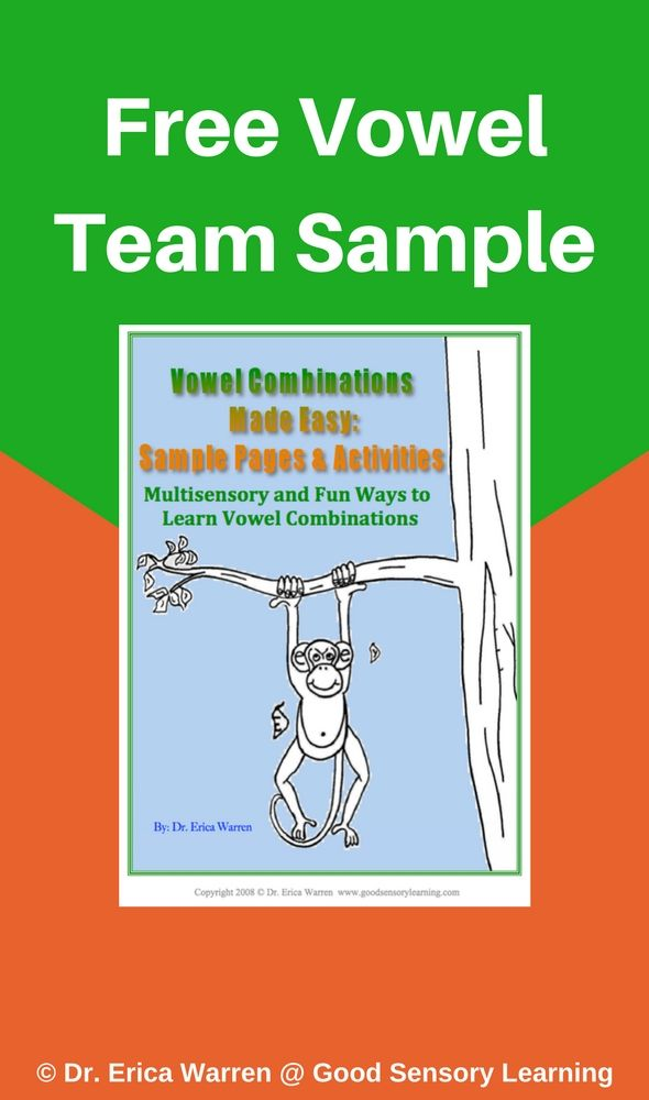 Free Fun Vowel Teams Activity for Reading   Vowel teams or vowel combinations are essential core reading concepts elementary students need to master. This free sample offers a maze and two coloring activities that are also a vowel combination search. Whats more the images offer embedded memory strategies. Click here to go to my blog where you can get a direct link!  Cheers  Dr. Erica Warren  beginning reading long and short vowels vowel combinations vowel teams