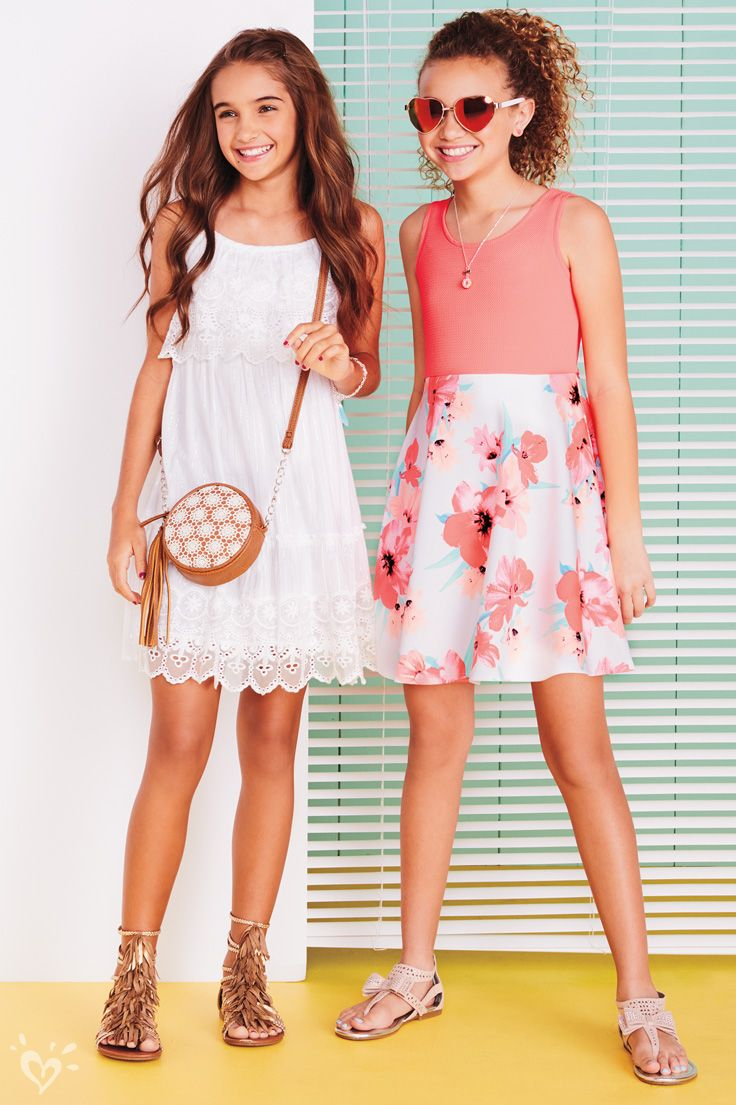 Lots of lace, bright colors and blooming florals = the definition of spring!