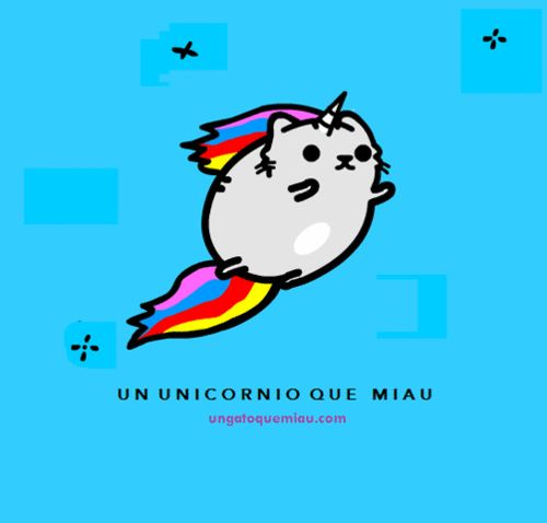 Rainbow Animated Narwhals unicorn gif | ... , ny...