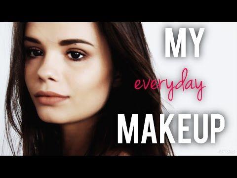(27) JAK MALUJĘ SIĘ NA CO DZIEŃ ? Mój wiosenny makijaż - YouTube