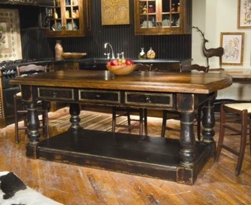Country Kitchen Islands | french country kitchen island ideas | Home Designs Wallpapers