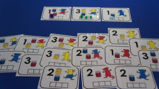 La couleur des souris (Trois souris peintres) Act. mathématique