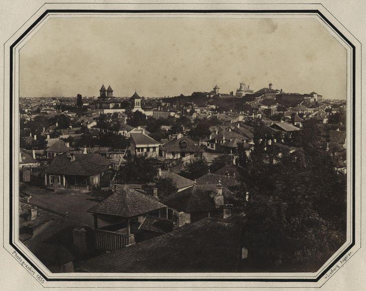Ludwig Angerer - Antim Slum (Mahalaua Antim), Bucharest, 1856