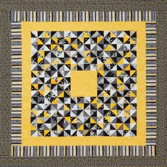 Although this quilt features a simple black white and for Where can you get fabric