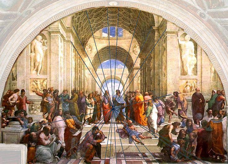 Raffael: die Schule von Athen