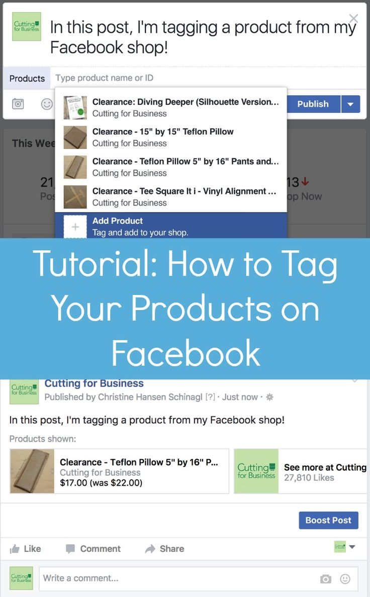 Tutorial: How to Tag Your Products in Facebook Posts