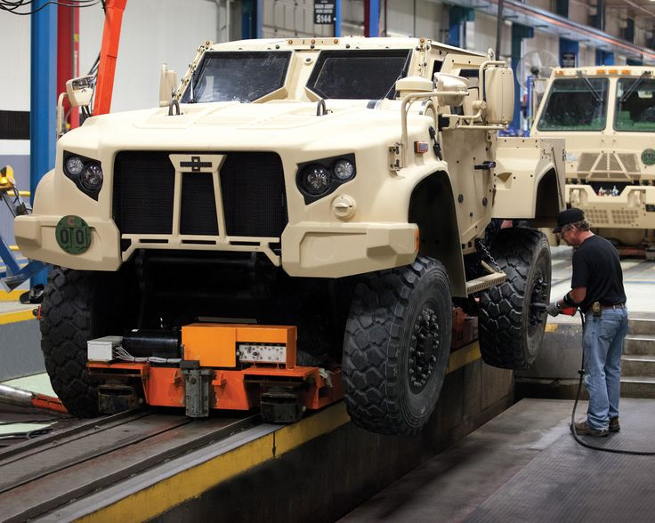 Oshkosh Corporation Continues Work under Joint Light Tactical Vehicle Production Contract