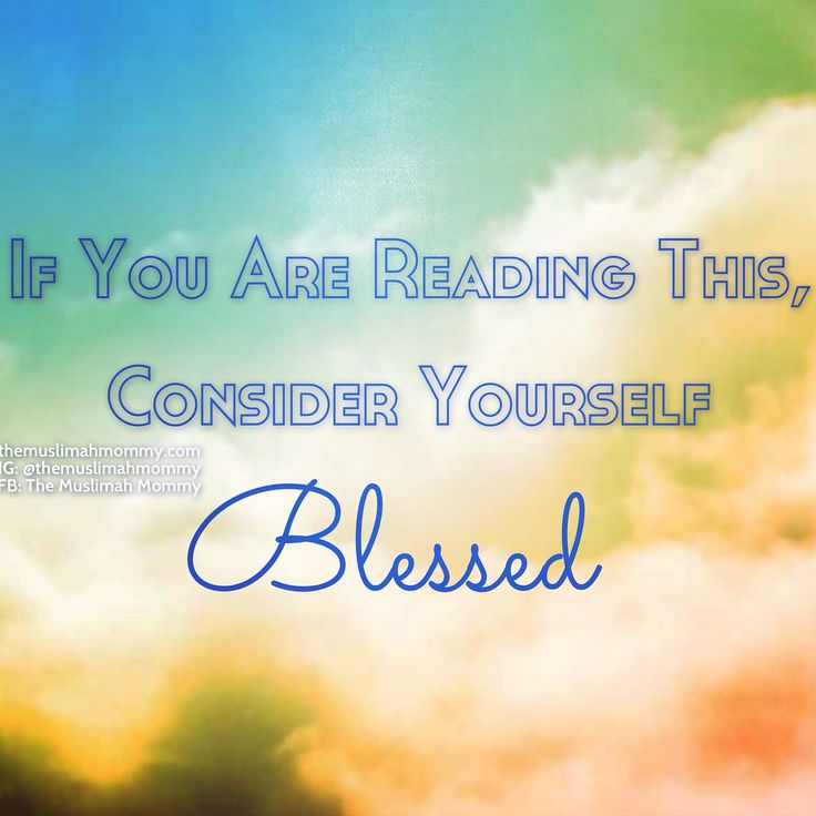 You are BLESSED! #blessed #quote