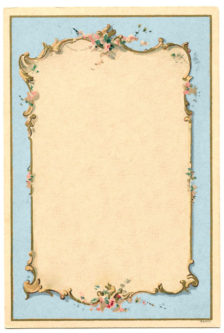Victorian French Graphic – Romantic Couple – Ornate Frames