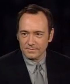 Kevin Spacey has got talent.  Nine impersonations in six minutes.
