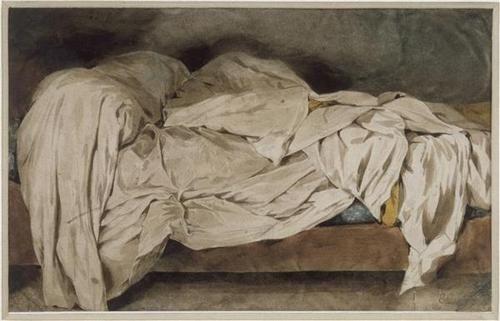 Eugène Delacroix (1798-1863) | watercolor,1828
