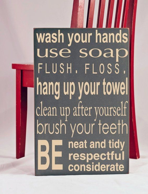 34 Best House Rules Images On Pinterest