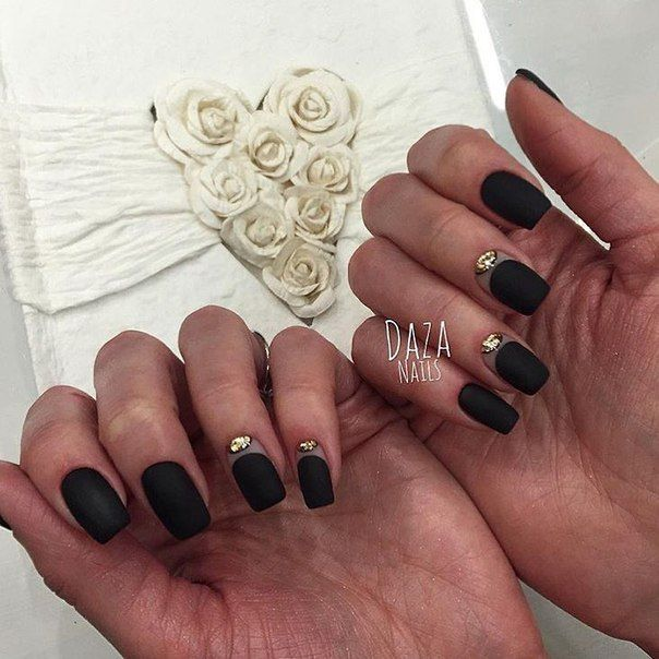 Beautiful evening nails, Festive nails, Great nails, Half-moon nails ideas…