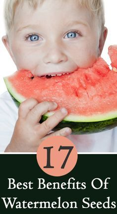 17 Best Benefits Of Watermelon Seeds @mschi434 ...who knew! Looks like they have a lot of benefits we have been missing out on.