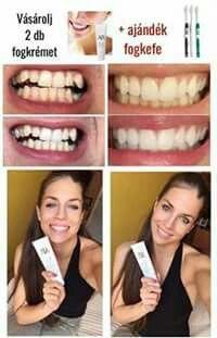 December 7.-én fantasztikus ajándékkal kedveskedünk Nektek!! Vásárolj 2 db fogkrémet és Tiéd a fogkefe készlet, amely 15%-kal több lepedéket távolít el a lekerekített sörtéjű fogkeféknél!