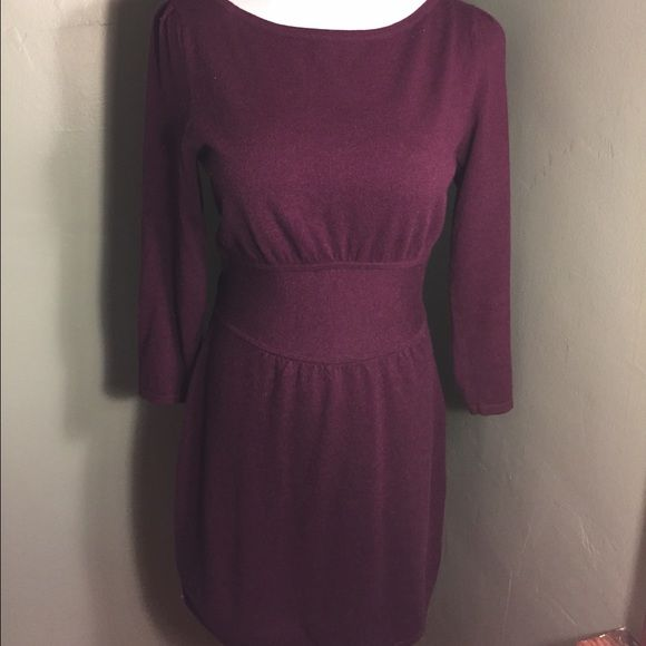 Express Burgundy Sweater Dress Gently used, worn only a couple times, from a smoke-free and pet-free home, please contact with any questions, happy to help! Express Dresses Midi