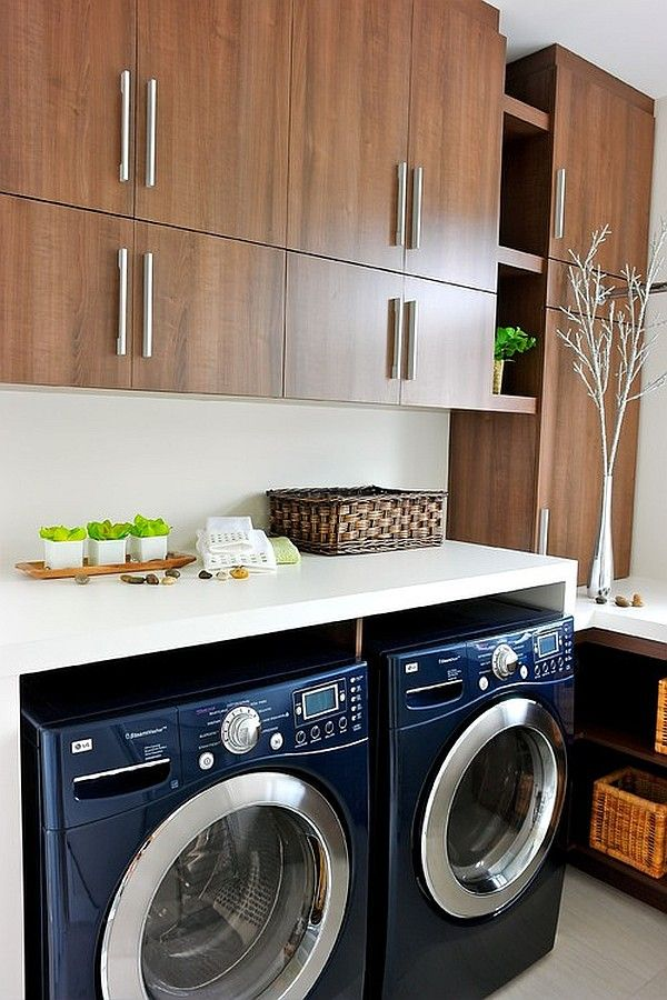 Beautiful, Ultra Modern Laundry Room Design
