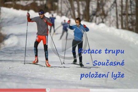 Video -  škola běžeckého lyžování: Nácvik bruslení - 3. díl