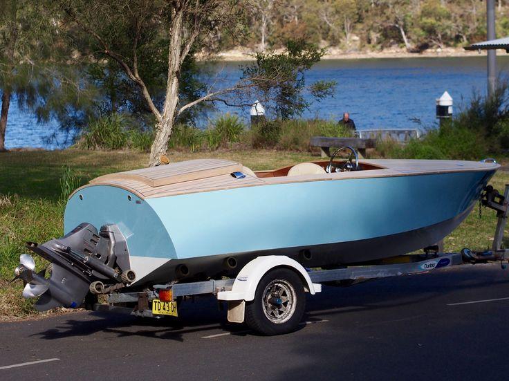 Donzi 16 Replica Wooden Boat Volvo gxi 5.0 duo prop