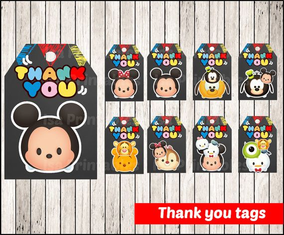 20 best tsum tsum images on Pinterest Tsum tsum party Birthday