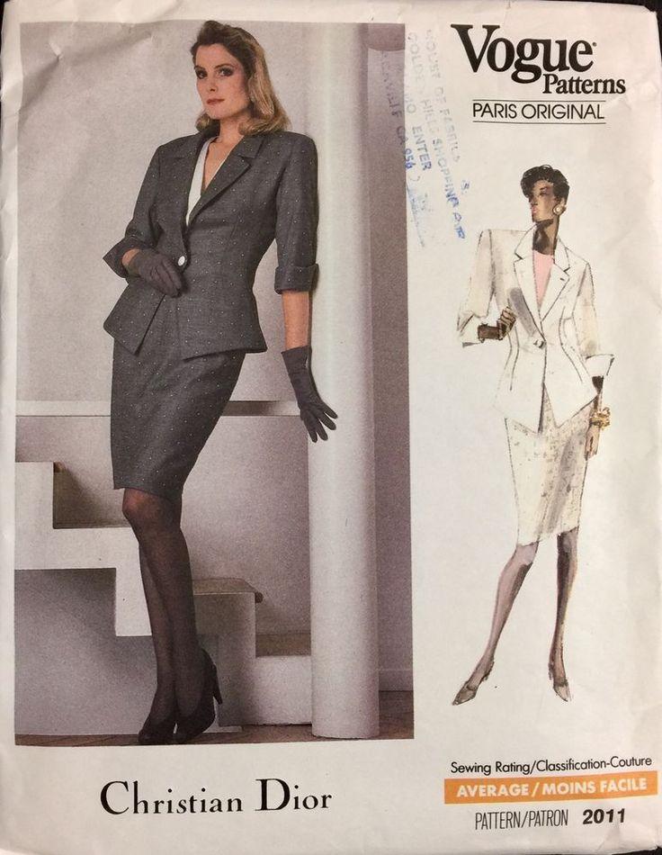3453 besten Vogue vintage Sewing patterns Bilder auf Pinterest ...