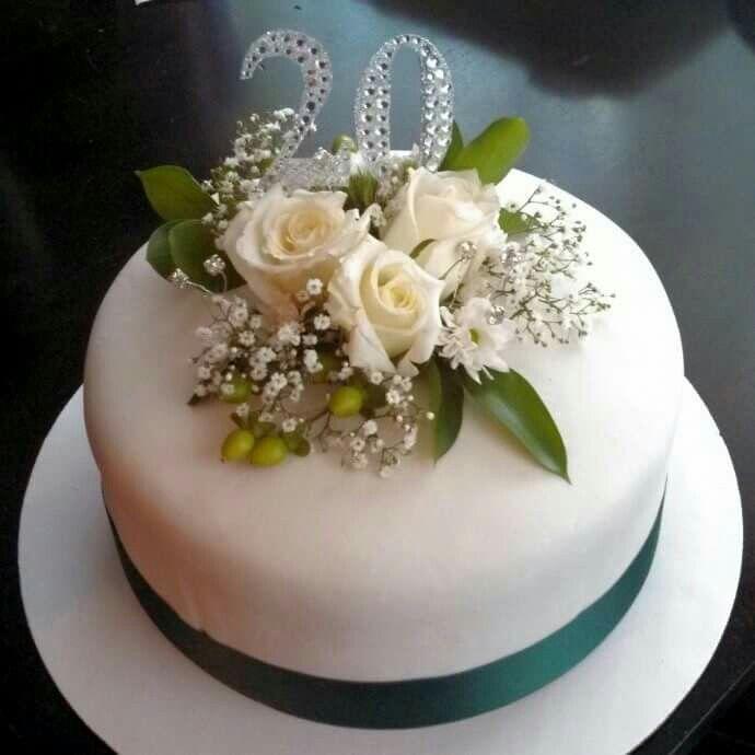 20 Wedding Anniversary Ideas: 20th Wedding Anniversary Cake