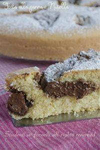 torta alla panna e nutella soffice e golosa ricetta con panna liquida