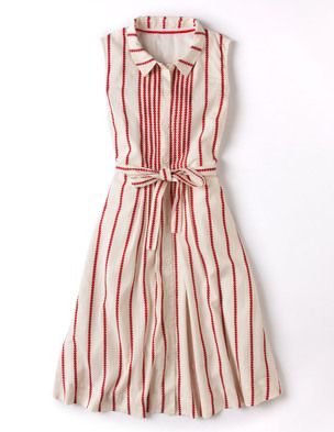 I've spotted this @BodenClothing Monte Carlo Dress Ivory/Dark Red