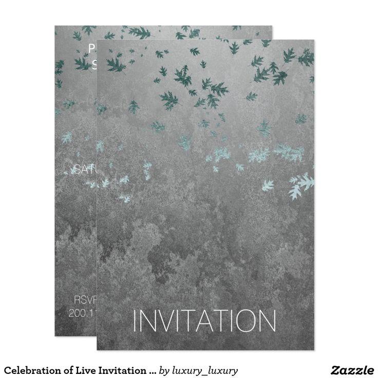 12 best celebration of live anniversary funeral images on celebration of live invitation vip silver stopboris Choice Image