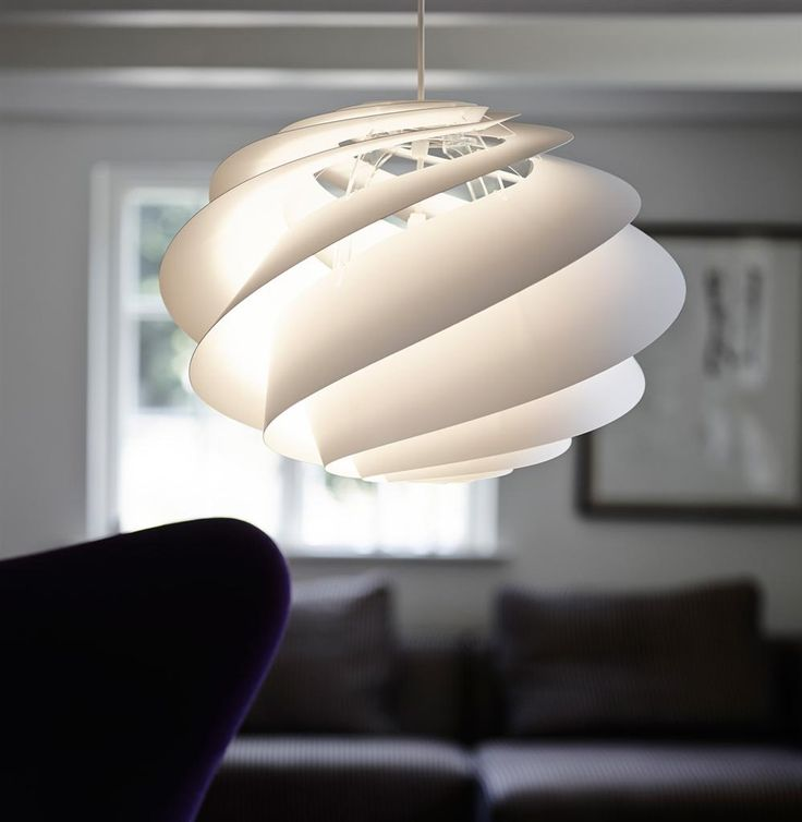 Interior Lighting Ideas with Swirl lamp – light and delicately by Le Klint