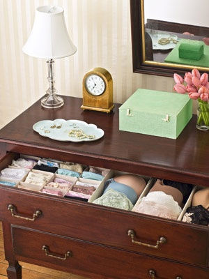 organized drawers and 51 other ways to get organized