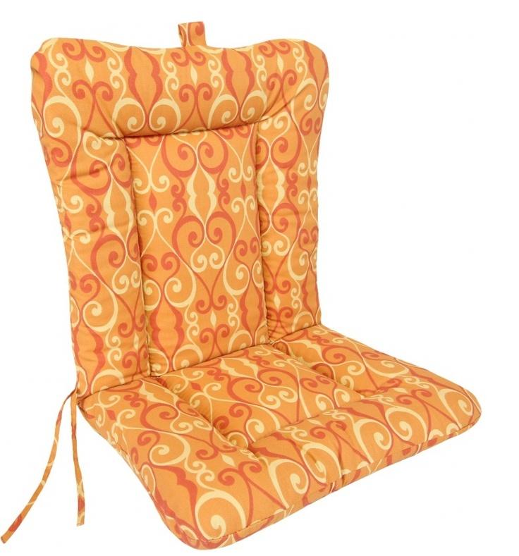 38 Navy Wrought Ironl Patio Chair Cushion Knife Edge DESIGN YOUR OWN CUSHION