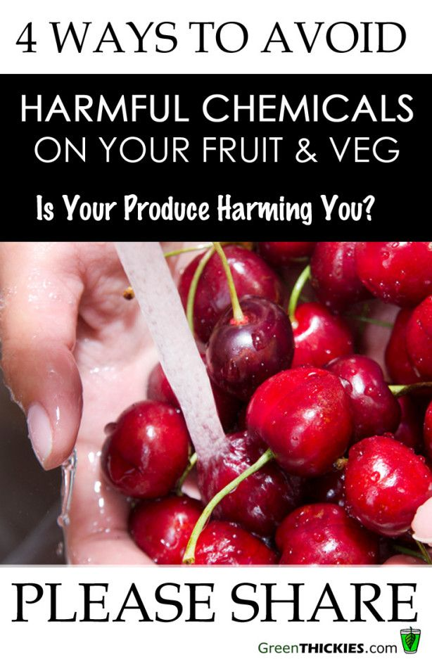 Is Your Produce Harming You? 4 Ways To Avoid Harmful Chemicals On Your Fruit and Veg