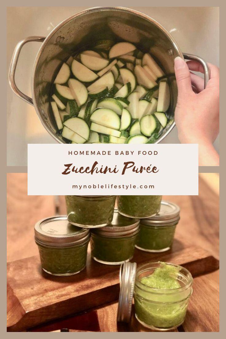 Zucchini Puree Baby Food Recipe - My Noble Lifestyle ...