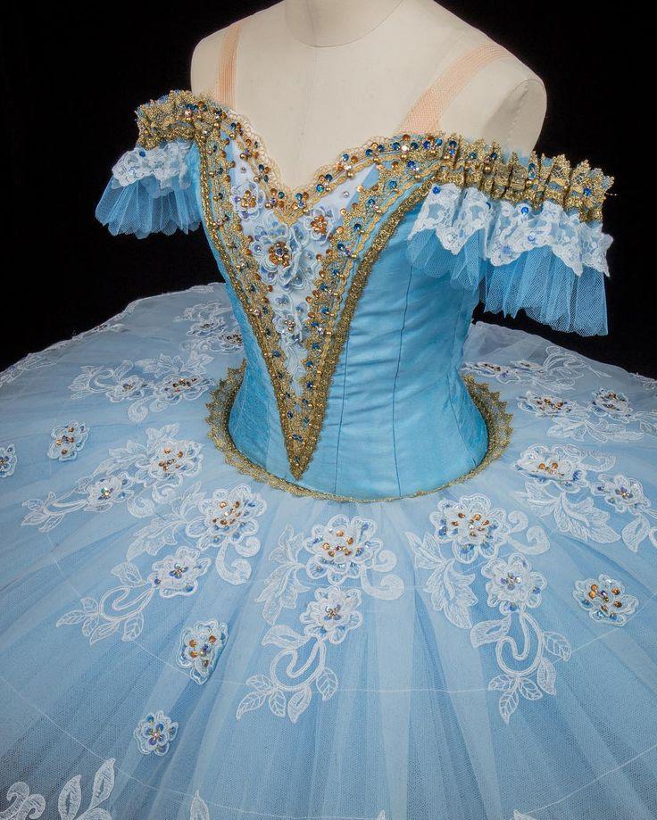 "Blue tutu - #ballet #costume #tutu #blue #florina #bluebird - ユキワードローブ (@yuki_wardrobe) no Instagram: ""バレエ衣裳レンタル好評頂いております。…"""