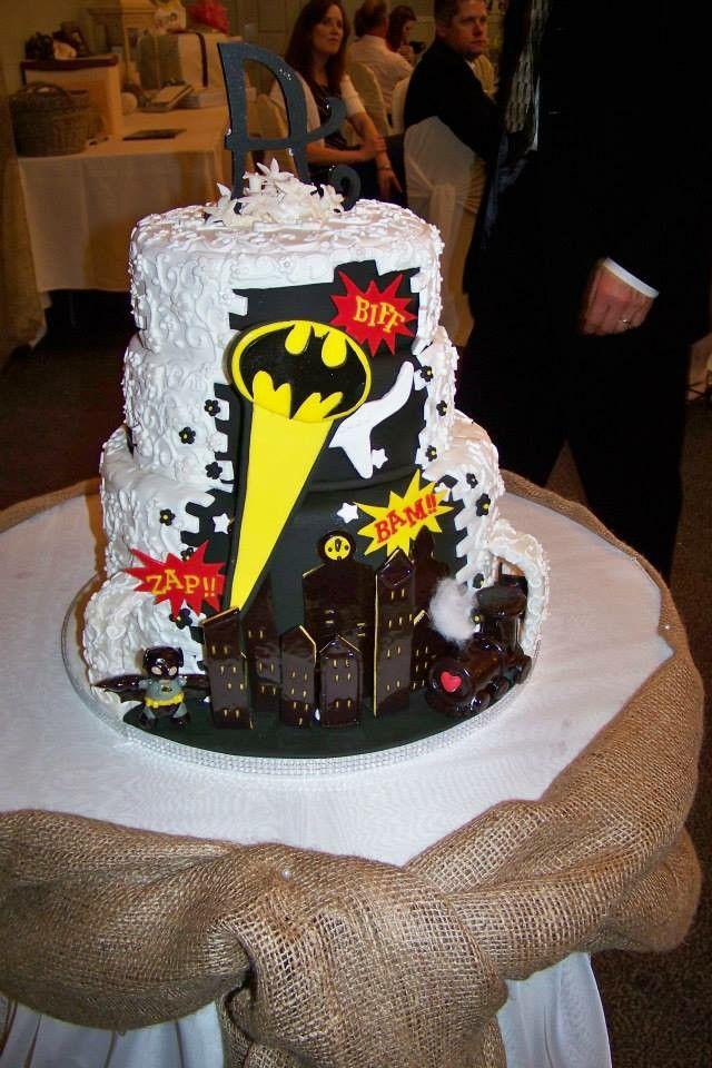 Batman wedding cake 81 best Wedding cakesDesserts