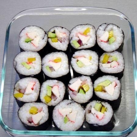 Surimi tekercs - sushi Recept képpel - Mindmegette.hu - Receptek