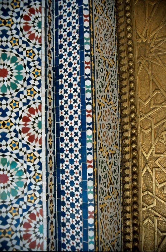 Palacio en Fez. Marruecos