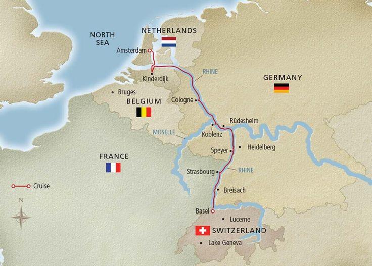 Viking River Cruises Rhine Getaway Cruise - on threelittlekittens.com/blog