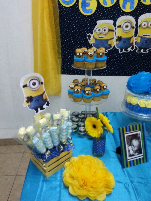 Exceptional Baby Shower Minions Part - 12: Minions Baby Shower