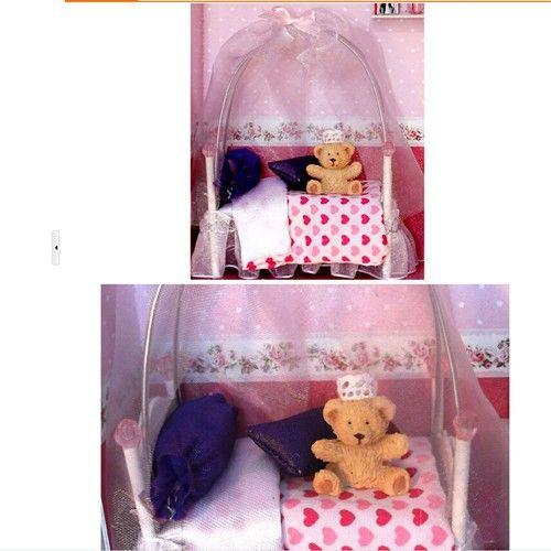 Поделки из дерева кукольный домик кукольный дом принцесса номер фоторамка серии мебель / аксессуары комплект подарок FPPкупить в магазине Home and GardenнаAliExpress