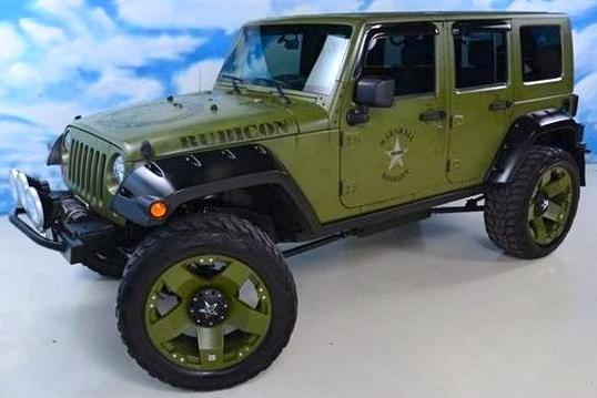 NFL All-Pro Jason Babin's Jeep